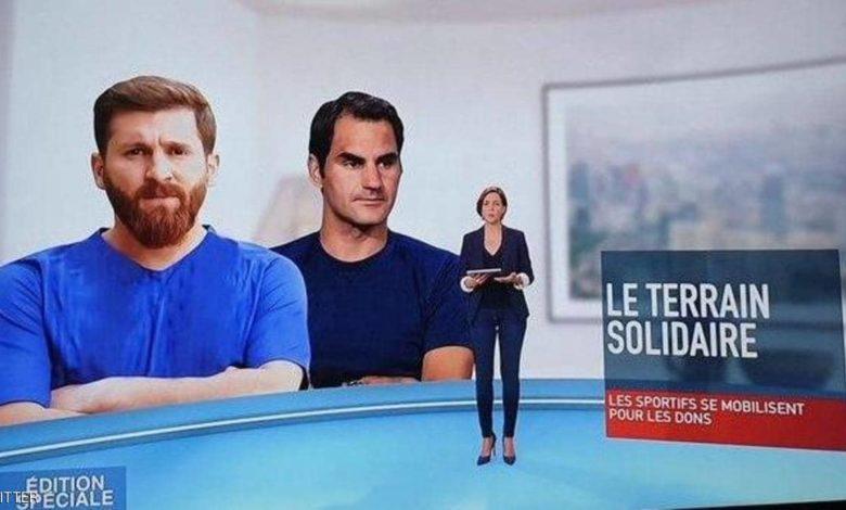 """Photo of فيديو.. قناة تلفزيونية تقع في خطأ """"فادح"""" بسبب شبيه ميسي"""
