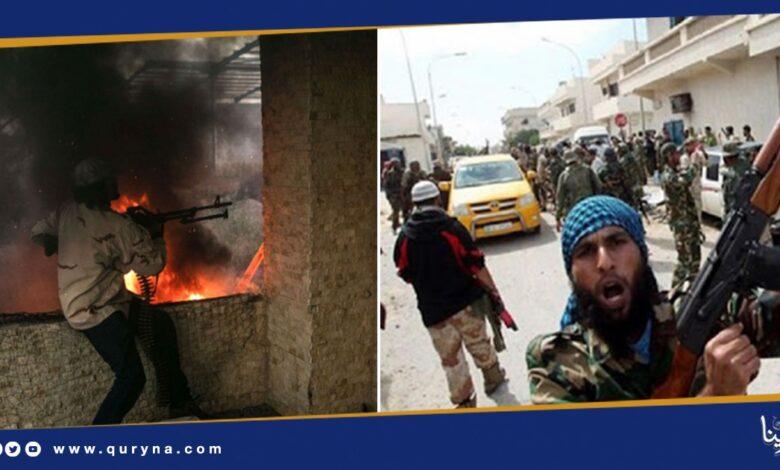 Photo of مليشيات الوفاق تحرق ترهونة