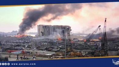 Photo of تشريد 300 ألف شخص وتضرر 8000 منزل جراء انفجار بيروت