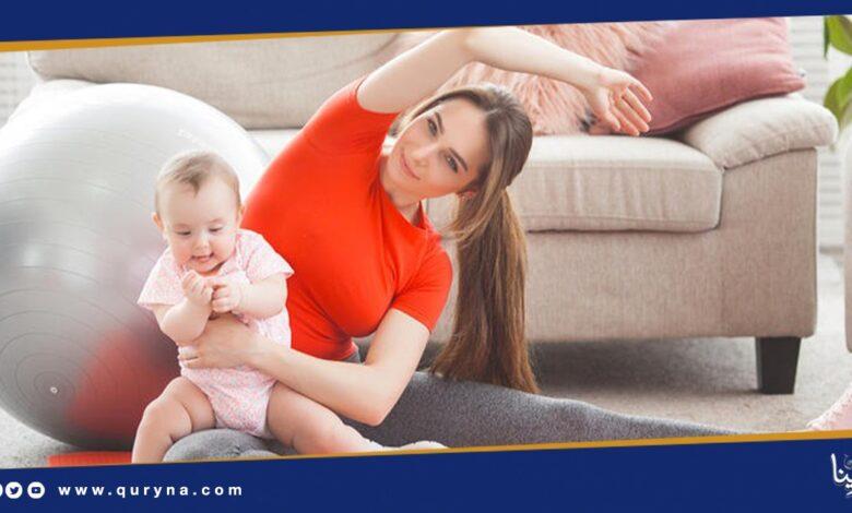 Photo of تمرينات شد البطن بعد الولادة
