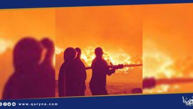 Photo of نشوب حريق بسوق الأعلاف في السعودية