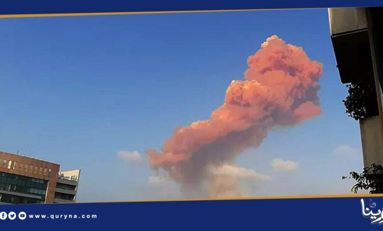 Photo of مصادر طبية: 10 قتلى في حادثة انفجار بيروت.. والمحافظ: المدينة أصبحت منكوبة