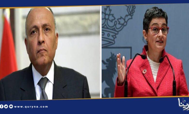 Photo of مباحثات مصرية إسبانية بشأن الملف الليبي