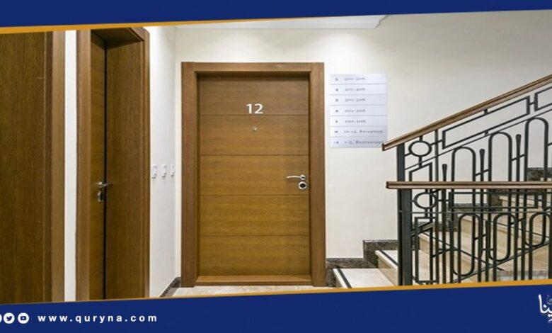 Photo of أبواب خشب خارجية للمنازل