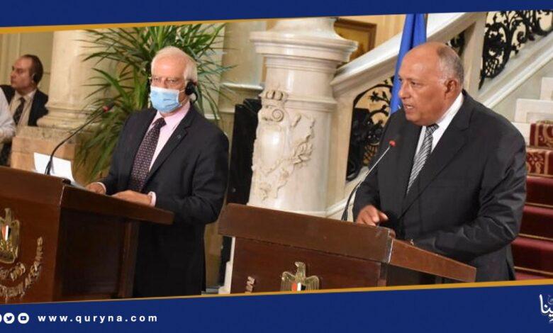 Photo of وزير الخارجية المصري : حل الأزمة بحوار ليبي ـ ليبي