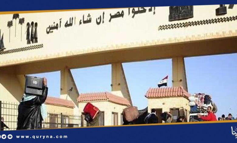 Photo of طبرق : عودة العمل بالمنفذ الحدودي وفق الإجراءات الاحترازية