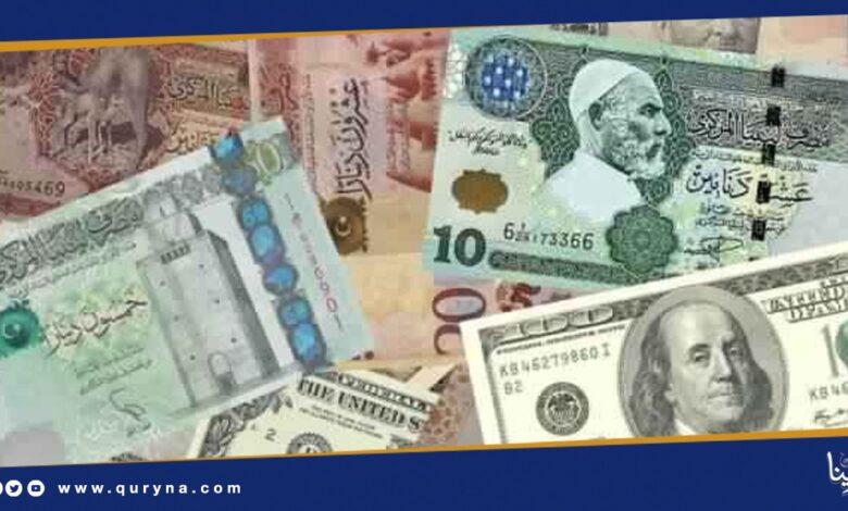 Photo of ارتفاع اليورو والدولار أمام الدينار الليبي