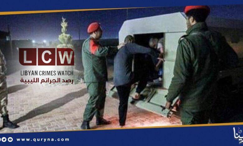 Photo of قوات حفتر تشن حملات اعتقال بحق المتظاهرين