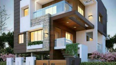 Photo of رسم هندسي لمنزل جميل