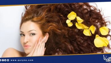 Photo of وصفات طبيعية للتخلص من رائحة الشعر الكريهة