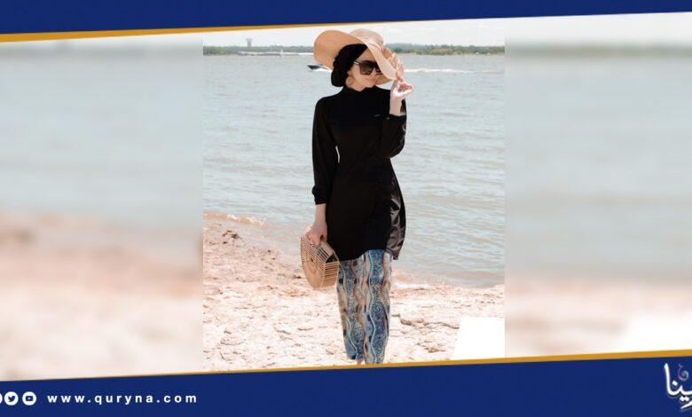 Photo of ملابس محجبات لإطلالات البحر