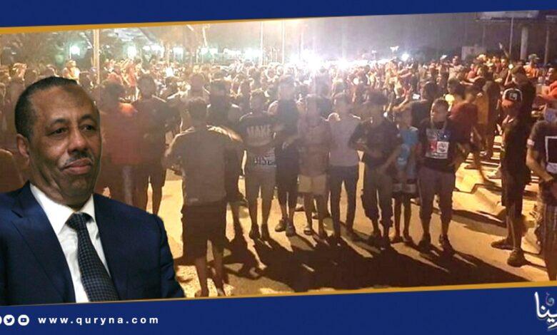Photo of متظاهرو بنغازي يلوحون بالتصعيد .. ويمهلون الثني 10 أيام