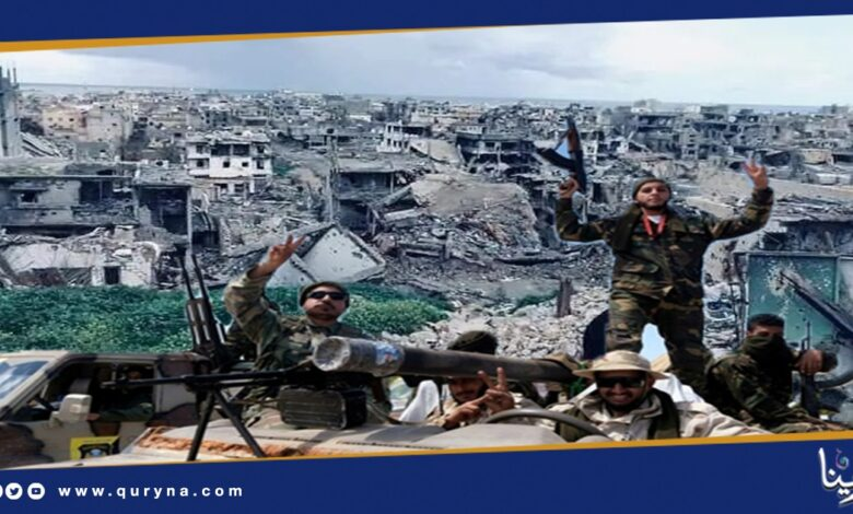 Photo of درنة : ميليشيا أولياء الدم التابعة لحفتر تستولي على ممتلكات المواطنين و تهدد الممانعين بالقتل