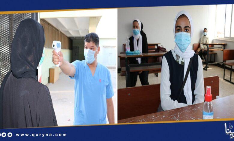 Photo of بنغازي: انطلاق امتحانات الشهادة الثانوية بتدابير احترازية