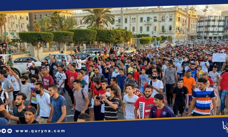 Photo of تجدد تظاهرات العاصمة طرابلس غدًا