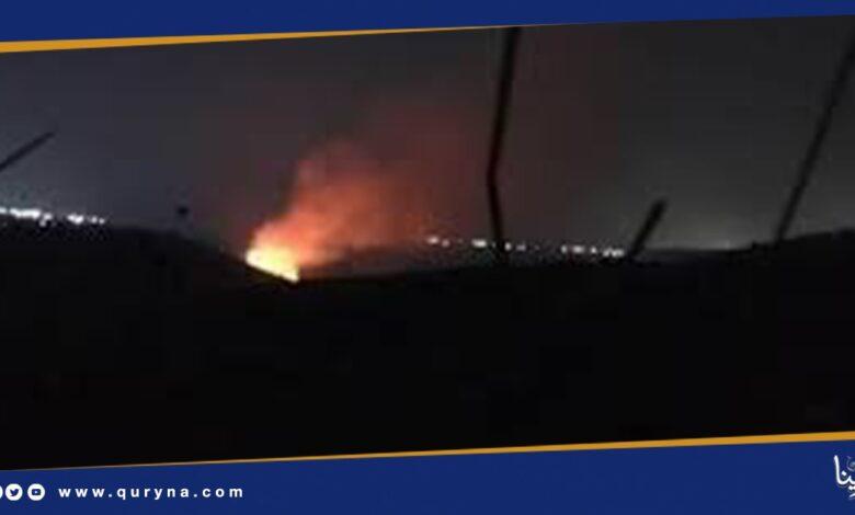 Photo of سقوط قذيفة على منطقة جازان بالسعودية