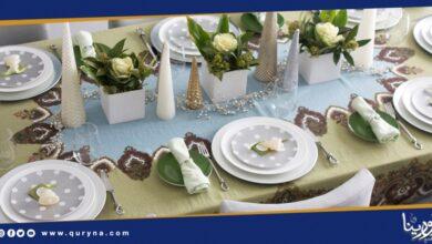 Photo of فن تنسيق المائدة