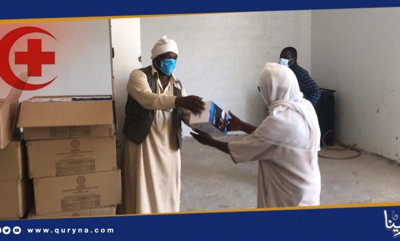 Photo of الصليب الأحمر الدولي يتصدق على الليبيين