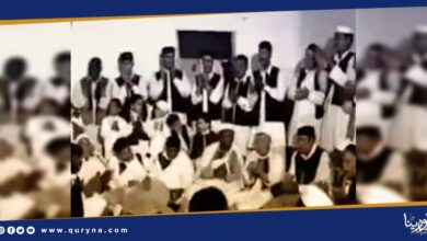Photo of أغنية تراثية لفرقة الفنون الشعبية مدينة هون .. سكب سال دمع الميامي حذايف وعقلي مرايف