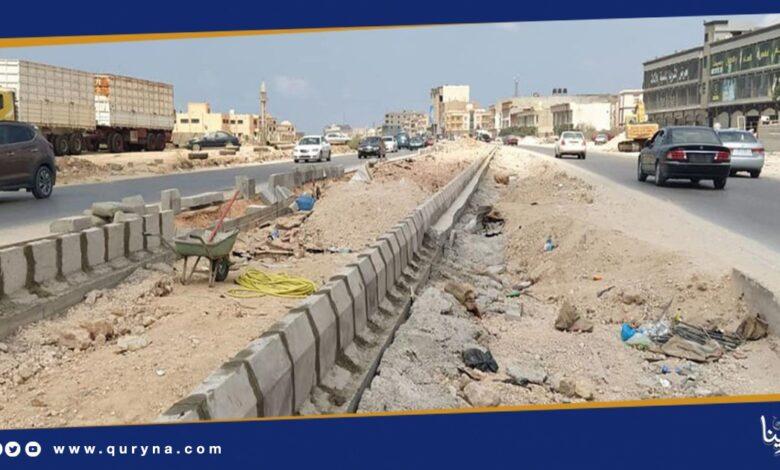 Photo of تطوير الطريق الدائري الرابع ببنغازي
