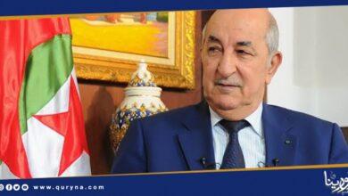 Photo of تبون : نرفض تسيس الملف الليبي و تمرير الأجندات الدولية
