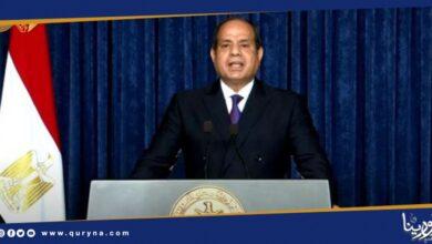 "Photo of مصر تعلن التصدى لتجاوز الخط الأحمر ""سرت – الجفرة"" دفاعا عن أمنها القومى"