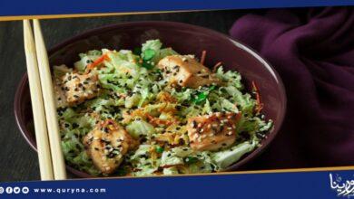 Photo of لعشاء صحي .. سلطة الدجاج بالخضار