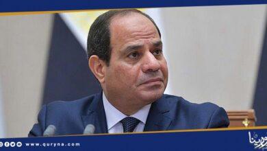 Photo of الرئيس المصري عبد الفتاح السيسي ينعي أمير الكويت