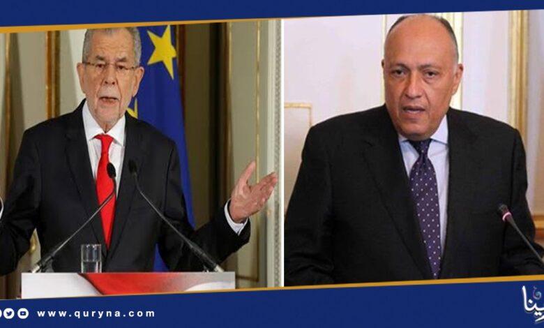 Photo of مباحثات مصرية نمساوية حول تطورات الملف الليبي