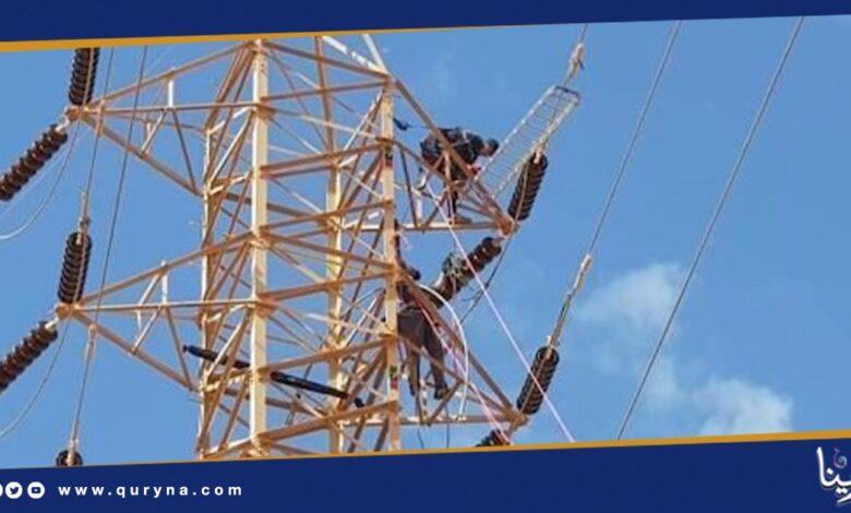 Photo of انقطاع التيار الكهربائي عن منطقة الظاهرة