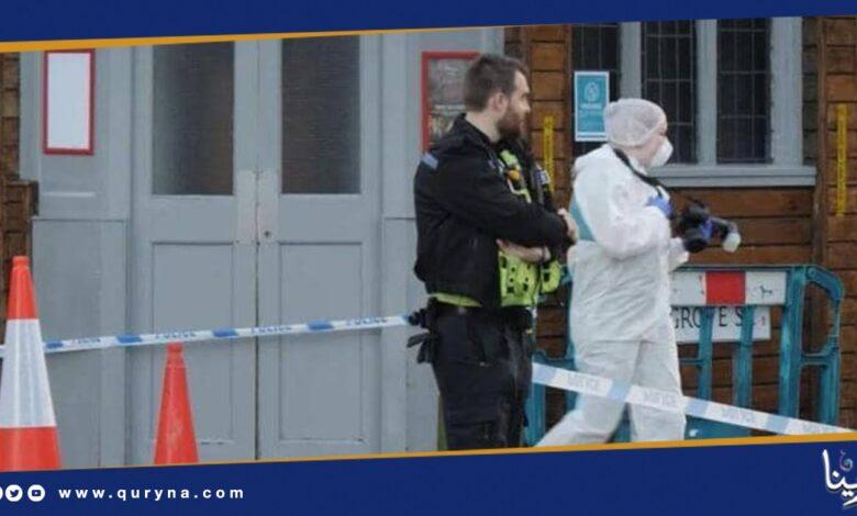 Photo of الشرطة البريطانية تلقى القبض على مشتبه به