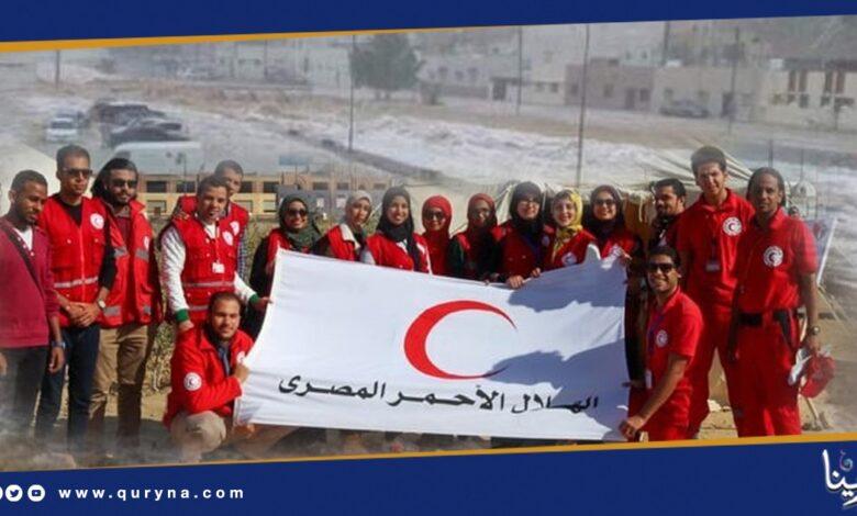 Photo of الهلال الأحمر المصري يرفع استعداداته لمواجهة السيول