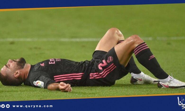 "Photo of ريال مدريد يعلن إصابة ""كارفاخال"""