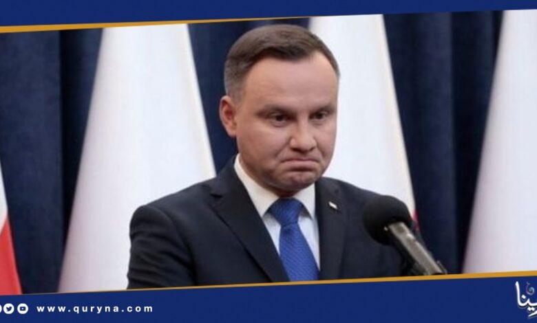 Photo of إصابة رئيس بولندا بفيروس كورونا