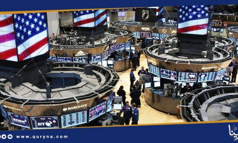 "Photo of ارتفاع المؤشرات الرئيسية لبورصة ""وول ستريت"""