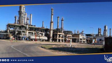 Photo of الزاوية لتكرير النفط تبدأ بتشغيل وحدات المرافق