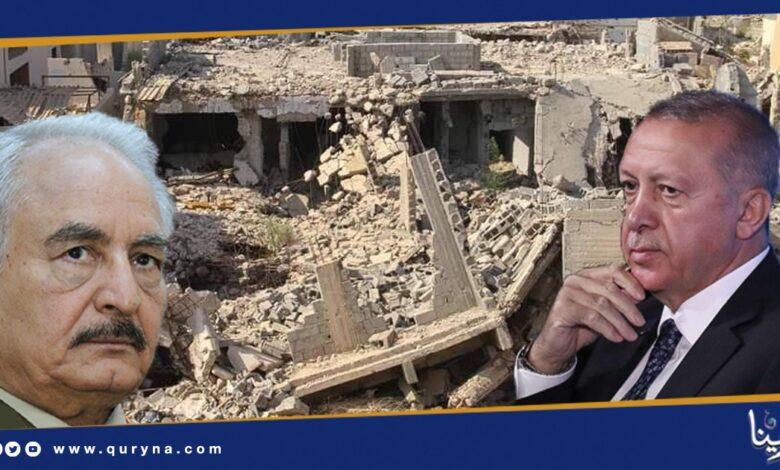 Photo of أردوغان يؤكد استخدام حفتر للمرتزقة