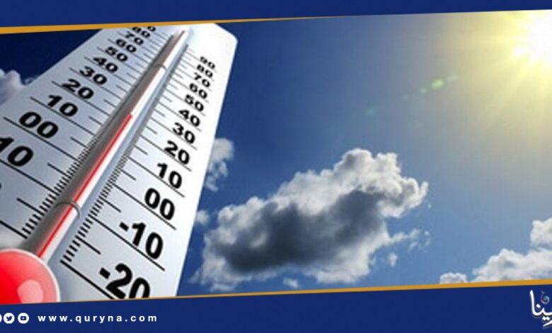 Photo of ارتفاع درجات الحرارة على مناطق شرق البلاد