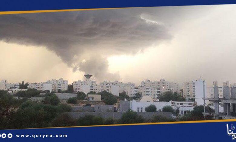 Photo of الأرصاد : سقوط أمطار رعدية على مناطق شمال شرق ليبيا