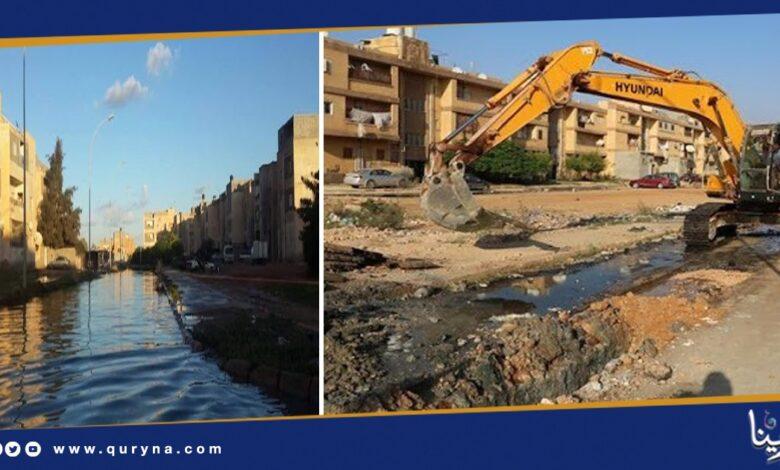 Photo of بنغازي تغرق في القاذورات و مياه الصرف الصحي تبتلع المدينة