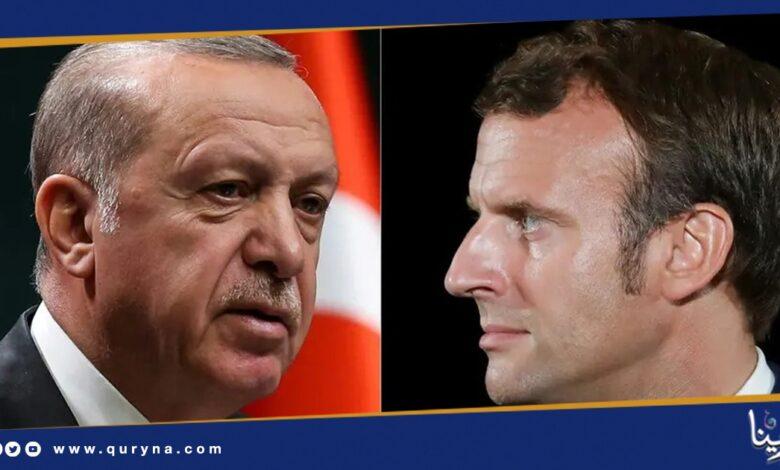 Photo of مشهد مخز للساسة _ ماكرون و أردوغان يتراشقون إعلاميًا