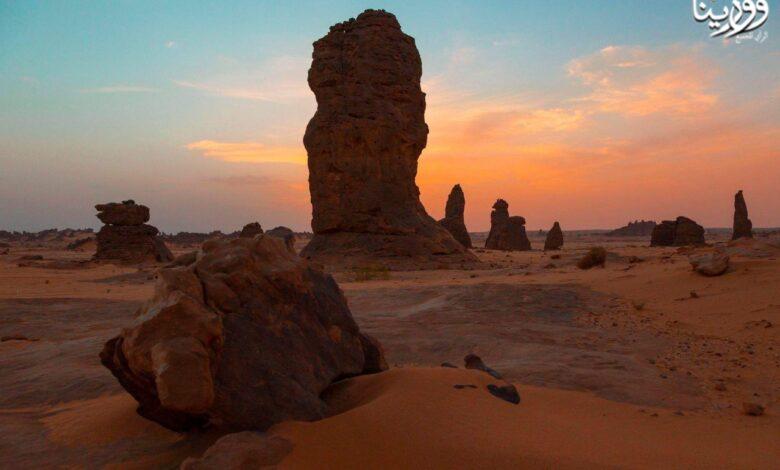 Photo of الصحراء الليبية الجميلة