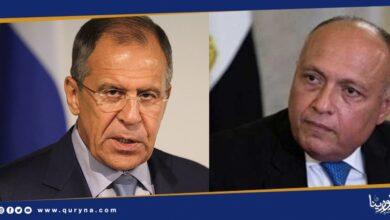 Photo of وزيرا الخارجية المصري والروسي يبحثان آخر التطورات في ليبيا