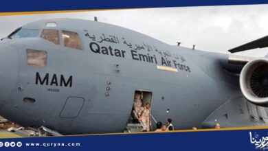 "Photo of ""فلايت رادار"" : مطارات غرب ليبيا استقبلت 6 طائرات عسكرية قطرية"