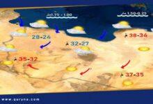 Photo of الأرصاد : انخفاض درجات الحرارة على المناطق الساحلية