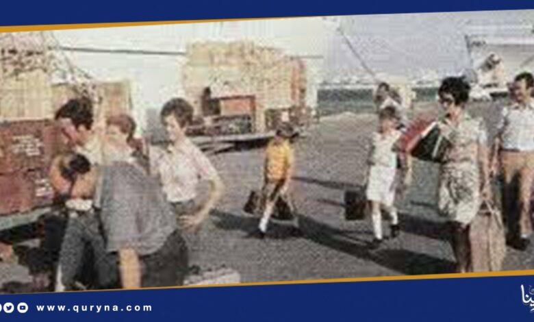 Photo of ذكرى طرد بقايا الطليان من ليبيا بفعل الإرادة الثورية القائد معمر القذافي في 7 أكتوبر 1970
