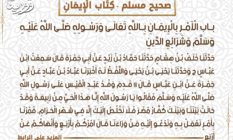 Photo of صحيح مسلم بشرح النووي > كِتَاب الْإِيمَانِ:
