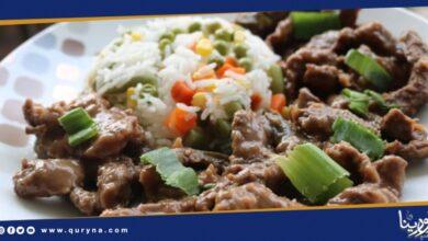 Photo of اللحم بالثوم والزنجبيل