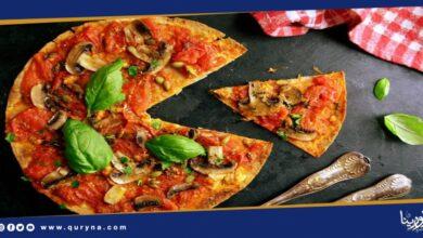 Photo of بيتزا صحية لوجبة العشاء