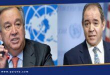 Photo of بوقادوم وغوتيريش يبحثان تطورات الأوضاع في ليبيا